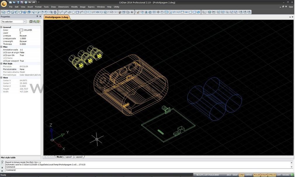 """Diagrama do protótipo em """"wireframe """""""